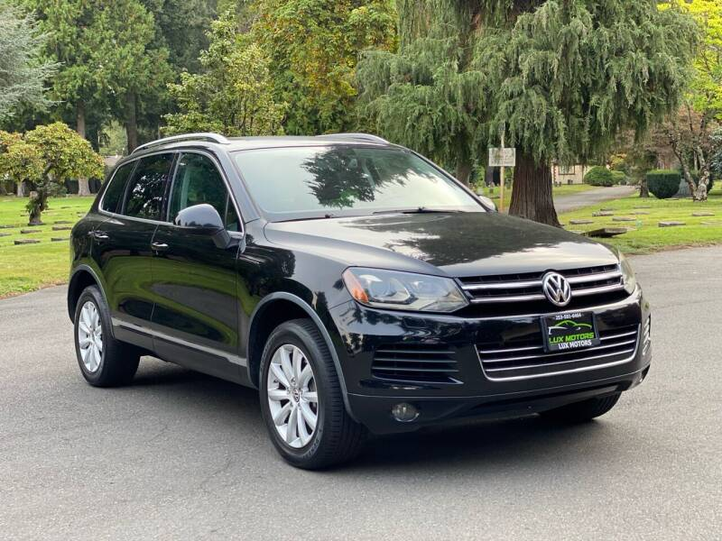 2011 Volkswagen Touareg for sale in Tacoma, WA