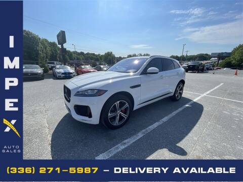 2017 Jaguar F-PACE for sale at Impex Auto Sales in Greensboro NC
