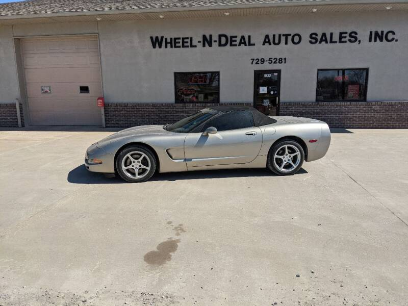 2000 Chevrolet Corvette for sale at Wheel - N - Deal Auto Sales Inc in Fairbury NE