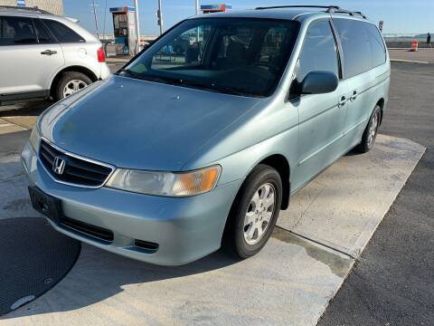 2003 Honda Odyssey for sale at Quincy Shore Automotive in Quincy MA
