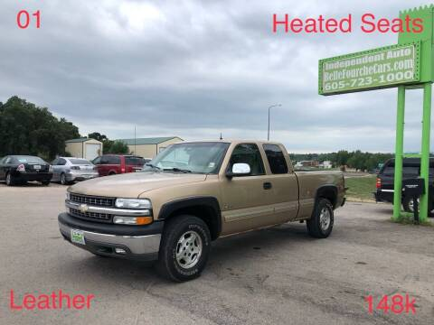 2001 Chevrolet Silverado 1500 for sale at Independent Auto in Belle Fourche SD