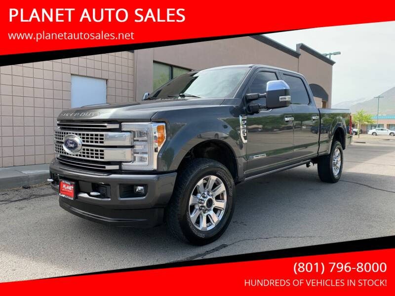 2018 Ford F-250 Super Duty for sale at PLANET AUTO SALES in Lindon UT