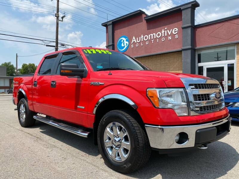 2013 Ford F-150 for sale at Automotive Solutions in Louisville KY