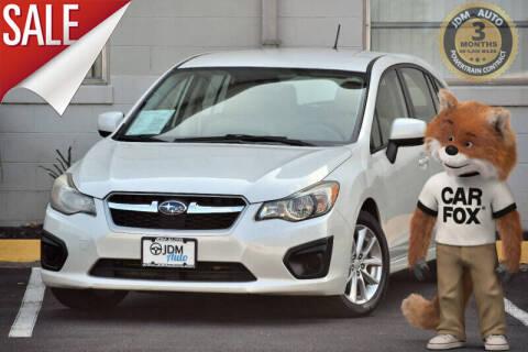 2013 Subaru Impreza for sale at JDM Auto in Fredericksburg VA