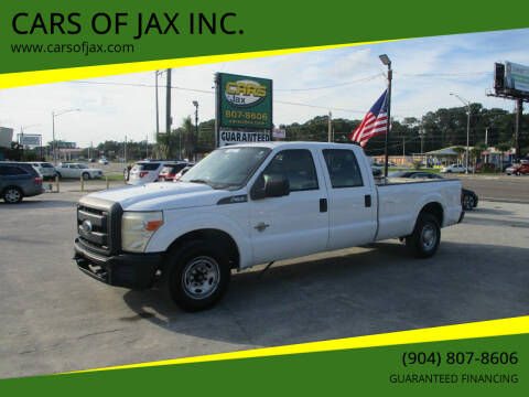 2013 Ford F-250 Super Duty for sale at CARS OF JAX INC. in Jacksonville FL