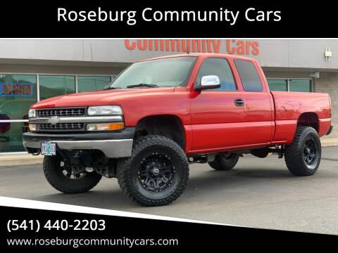 2001 Chevrolet Silverado 1500 for sale at Roseburg Community Cars in Roseburg OR