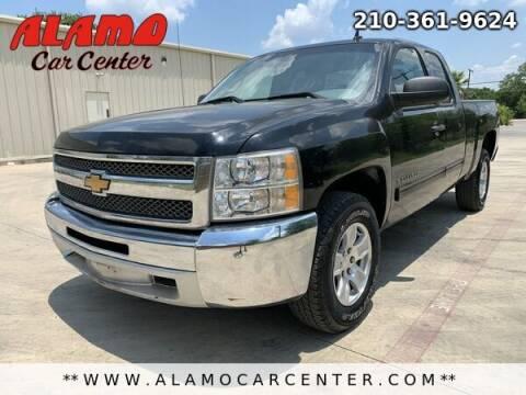 2013 Chevrolet Silverado 1500 for sale at Alamo Car Center in San Antonio TX
