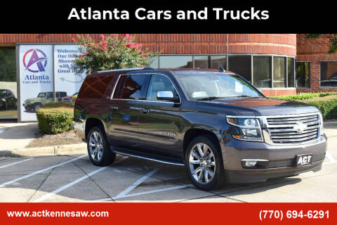 2016 Chevrolet Suburban for sale at Atlanta Cars and Trucks in Kennesaw GA