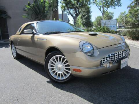 2005 Ford Thunderbird for sale at ORANGE COUNTY AUTO WHOLESALE in Irvine CA