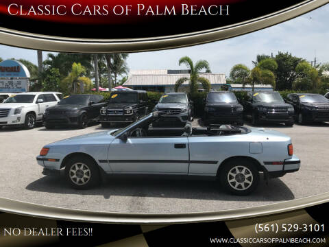 1989 Toyota Celica for sale at Classic Cars of Palm Beach in Jupiter FL
