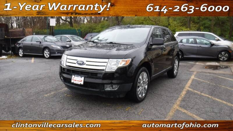2009 Ford Edge for sale at Clintonville Car Sales - AutoMart of Ohio in Columbus OH