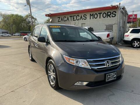 2013 Honda Odyssey for sale at Zacatecas Motors Corp in Des Moines IA