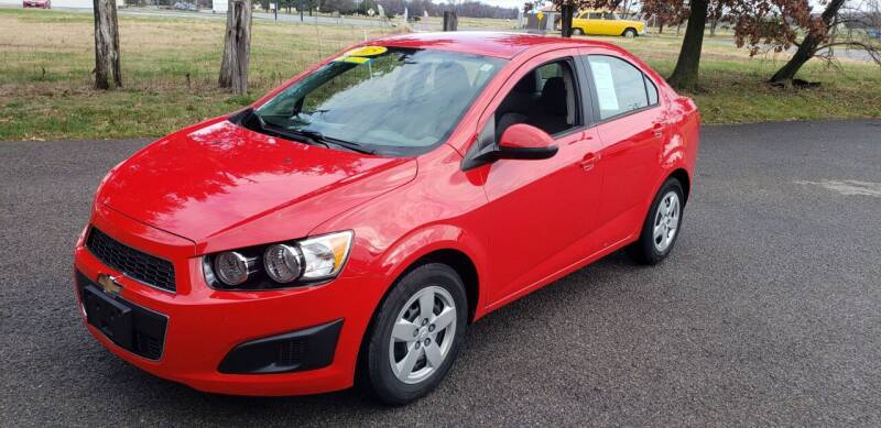 2015 Chevrolet Sonic for sale at Elite Auto Sales in Herrin IL