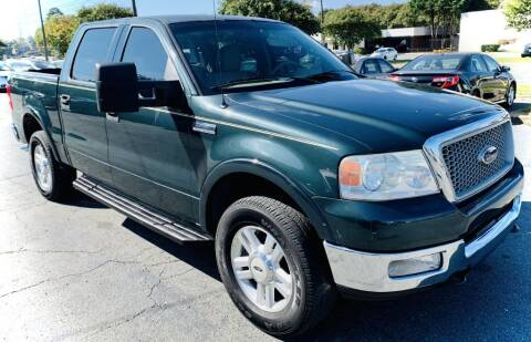 2004 Ford F-150 for sale at RD Motors, Inc in Charlotte NC