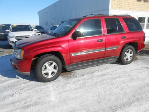 2002 Chevrolet TrailBlazer for sale at Salmon Automotive Inc. in Tracy MN