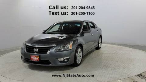 2015 Nissan Altima for sale at NJ State Auto Used Cars in Jersey City NJ