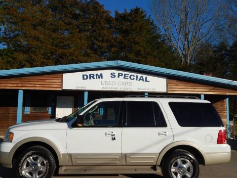 2005 Ford Expedition for sale at DRM Special Used Cars in Starkville MS
