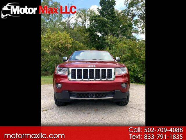 2012 Jeep Grand Cherokee for sale at Motor Max Llc in Louisville KY