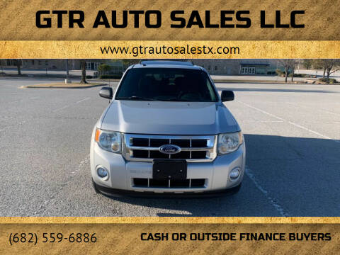 2009 Ford Escape for sale at GTR Auto Sales LLC in Haltom City TX
