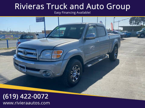 2004 Toyota Tundra for sale at Rivieras Truck and Auto Group in Chula Vista CA
