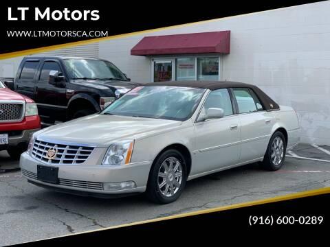 2008 Cadillac DTS for sale at LT Motors in Rancho Cordova CA
