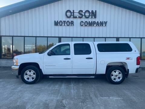 2013 Chevrolet Silverado 1500 for sale at Olson Motor Company in Morris MN