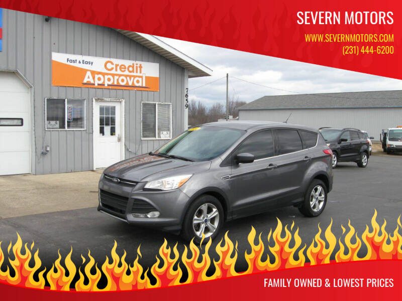 2014 Ford Escape for sale at Severn Motors in Cadillac MI