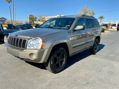 2005 Jeep Grand Cherokee for sale at Charlie Cheap Car in Las Vegas NV