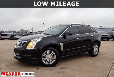 2014 Cadillac SRX for sale at Meador Dodge Chrysler Jeep RAM in Fort Worth TX