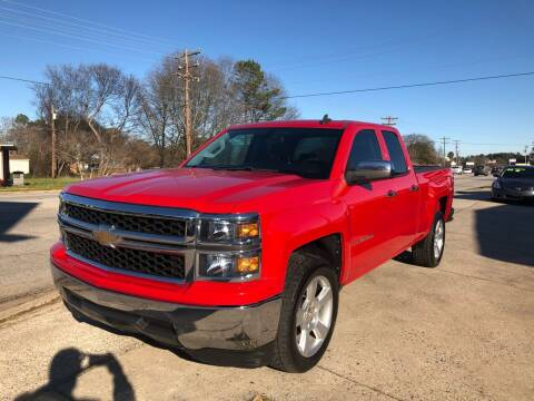 2015 Chevrolet Silverado 1500 for sale at E Motors LLC in Anderson SC