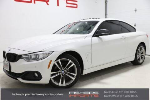 2016 BMW 4 Series for sale at Fishers Imports in Fishers IN