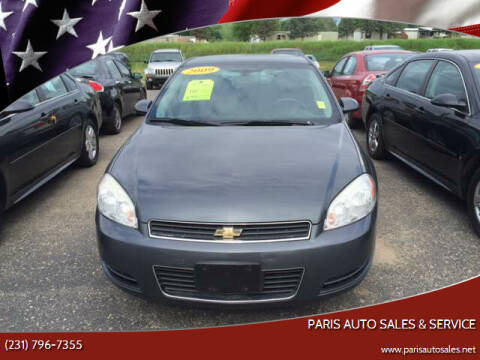 2009 Chevrolet Impala for sale at Paris Auto Sales & Service in Big Rapids MI