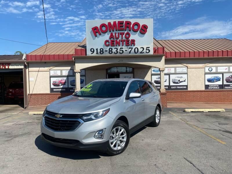 2018 Chevrolet Equinox for sale at Romeros Auto Center in Tulsa OK