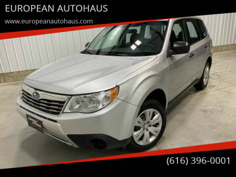 2009 Subaru Forester for sale at EUROPEAN AUTOHAUS in Holland MI