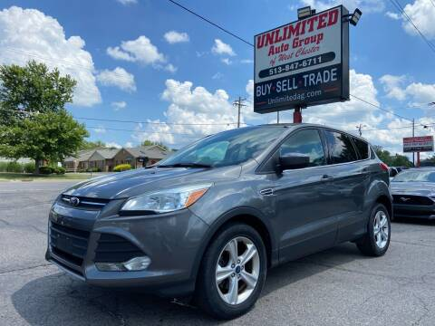 2014 Ford Escape for sale at Unlimited Auto Group in West Chester OH