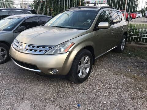2007 Nissan Murano for sale at Texas Luxury Auto in Houston TX