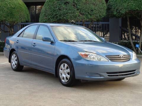 2003 Toyota Camry for sale at Auto Starlight in Dallas TX
