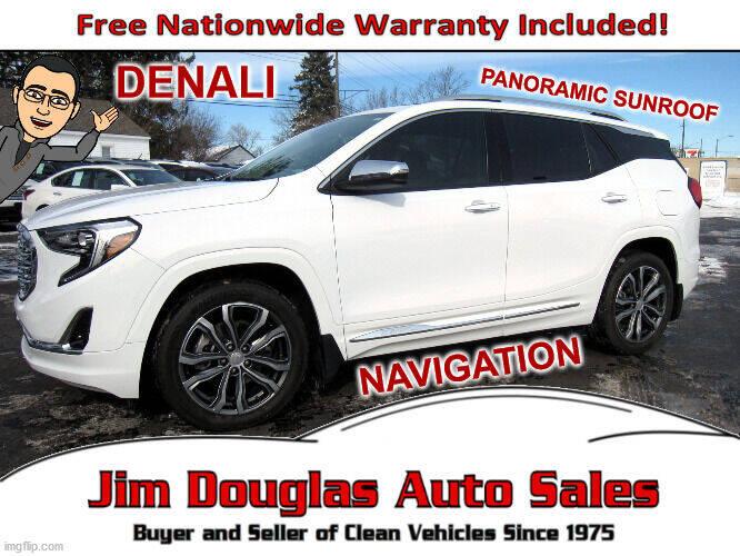 2018 GMC Terrain for sale at Jim Douglas Auto Sales in Pontiac MI
