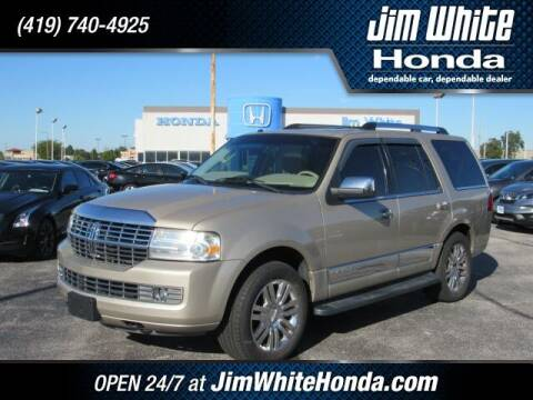 2008 Lincoln Navigator for sale at The Credit Miracle Network Team at Jim White Honda in Maumee OH