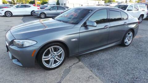 2013 BMW 5 Series for sale at Unlimited Auto Sales in Upper Marlboro MD