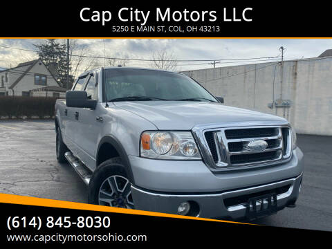 2008 Ford F-150 for sale at Cap City Motors LLC in Columbus OH