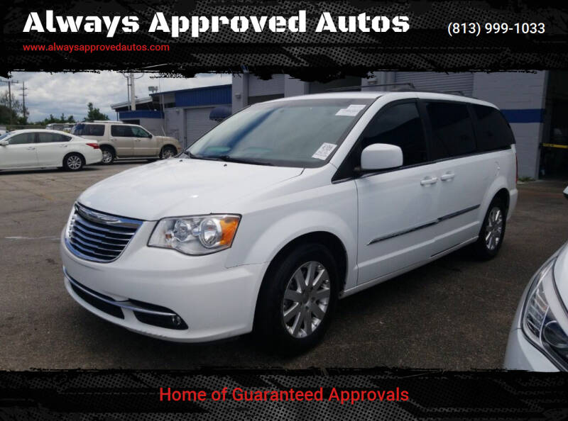 2016 Chrysler Town and Country for sale at Always Approved Autos in Tampa FL