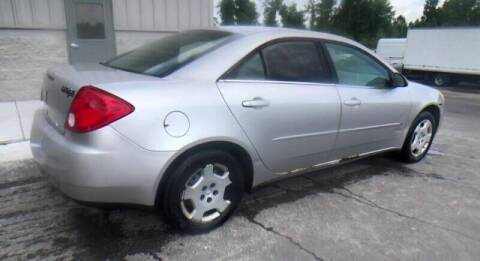 2006 Pontiac G6 for sale at D & J AUTO EXCHANGE in Columbus IN
