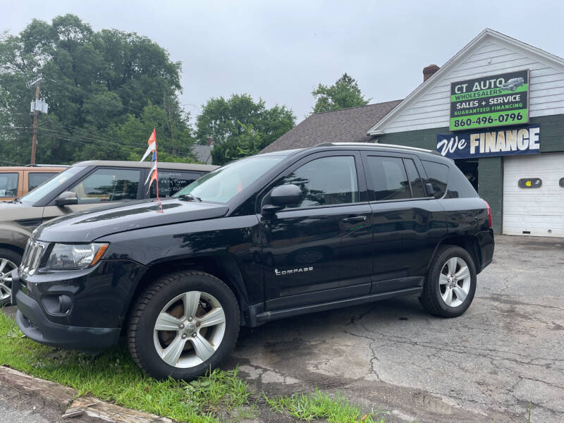 2015 Jeep Compass for sale at Connecticut Auto Wholesalers in Torrington CT