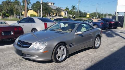 2005 Mercedes-Benz SL-Class for sale at Auto Quest USA INC in Fort Myers Beach FL