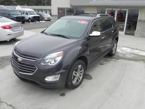 2016 Chevrolet Equinox for sale at Thompson Car Company in Bad Axe MI