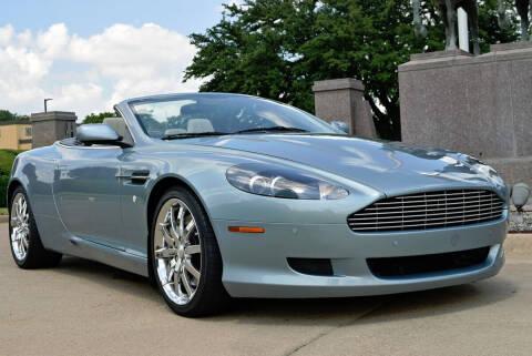 2007 Aston Martin DB9 for sale at European Motor Cars LTD in Fort Worth TX