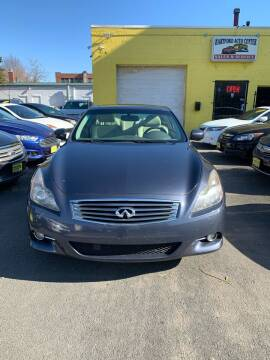 2011 Infiniti G37 Coupe for sale at Hartford Auto Center in Hartford CT