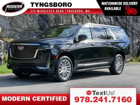 2021 Cadillac Escalade ESV for sale at Modern Auto Sales in Tyngsboro MA