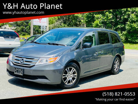 2013 Honda Odyssey for sale at Y&H Auto Planet in West Sand Lake NY